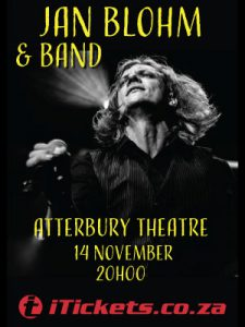 Jan Blohm & Band @ Atterbury Teater